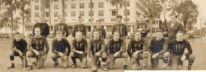 The Haven-Villa of Winter Haven squad in 1926. Swede Youngstrom 4th from the left kneeling row.