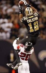 Marques Colston up