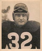 Sal Rosato 1948 Bowman Football Card